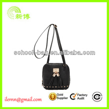 2012 hot selling and special shape fringe lace handbag