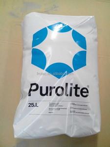Resina Purolite Substituição Extrepure Resina Amaciador de Água 001*7