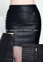 ladies' leather skirts dresses women sexy leather bondage
