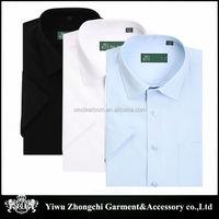 Solid Color business dress shirt for men