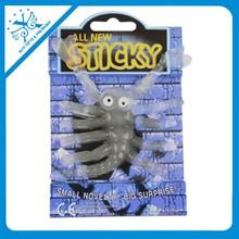 plastic TPR sticky scorpion toy promotion gifts sticky toys halloween gift novelty plastic chicken toys