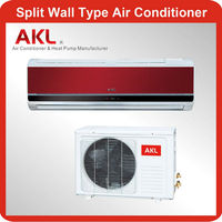 Low power 9000 btu wall mounted split air conditioner with timer switch