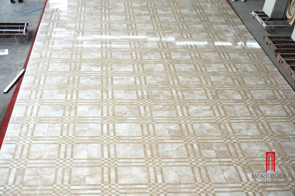 Moreroom Stone Waterjet Artistic Inset Marble Panel Paving Application3.jpg
