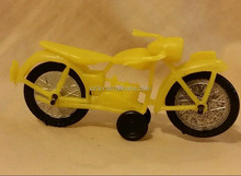 STORE plastic TOY PLASTIC YELLOW MOTORCYCLE,plastic cycle toy