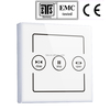 CE wifi curtain control system for home automation