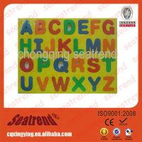 2015 High-quality Multifunctional Education Alphabet Fridge Magnet