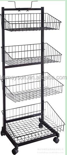 modern art metal display stand retail store stand. Black Bedroom Furniture Sets. Home Design Ideas