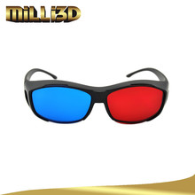 latest linear polarizer 3d glasses red blue video