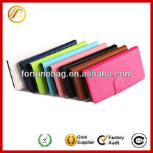 Wallet flip leather case for iphone 3gs