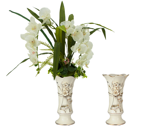 Home Decor Ceramic Vase Modern Design Ceramic Flower Vase Western Style Porcelain Vase Home