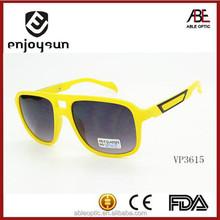 2015 plastic fashion promotion italian brand sunglasses shades eye frames metal decoration
