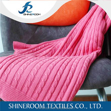 New Fashion 100% cotton thermal blanket