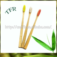 100% Biodegradable soft bristle bamboo toothbrush manufacturer