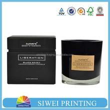 logo printing and custom degin candle box packaging