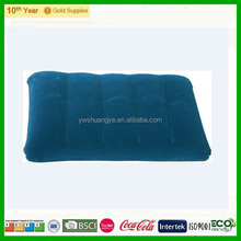 2015 Popular Fashion design flocked inflatable pillow