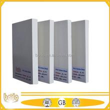rigid 10-15mm PVC FOAM SHEET
