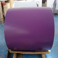 0.25mm PPGL prepainted galvalume steel coil for corrugated roofing sheet