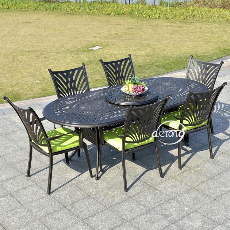 Table De Jardin Fonte D Aluminium Des Id Es Int Ressantes Pour La Conception De