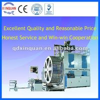 600 pe winding pipe production line