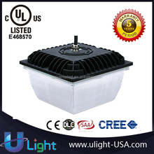 35W 60W 90W UL&DLC underground parking garage retrofit led canopy light