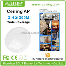 HIgh density 300M Ceiling wifi AP Customized 2.4GHz Ralink3052 Ceiling wifi AP 802.11b/g/n EP-AP2609