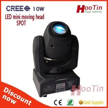 2015 New hot selling rotating stage light 12w led mini spotlight
