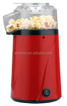 1200W red color Popcorn Makers without oil with FDA/SASO/CB approval