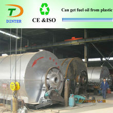 High efficiency Dinter Brand scrap plastic recycling system
