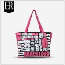 wholesale Qatar souvenir city name printing canvas bag