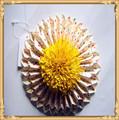Flor do casamento de papel para a menina cesta decoração