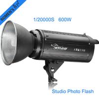 Studio Photo High speed flash lights 600W 1/20000s stroboscopic light