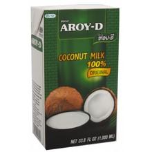 AROY-D Absolute coconut milk 100% UHT 1000 ML