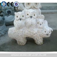 Garden stone animal carvings,garden statue