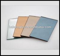 High quality 2mm-6mm blue tint mirror