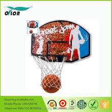 basketball pole and backboard