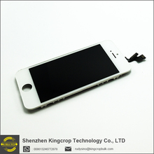 Low price mobile phone spare parts LCD with digitizer complete for iphone 5s lcd