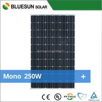 Bluesun all certificated high efficient CE TUV monocrystalline solar panel 240w