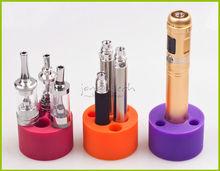high quality Multifunctional silicone base , useful ecig accesory, ecig display stand, low price