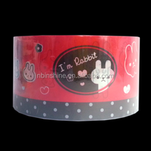 Cartoon printed strapping tape , Decorative tape , Stationery tape