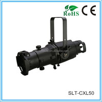 200w white zoom led theater spot light, led ellipsoidal light, led profile spot SLT-CXL50
