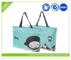 Foldable reusable oem odm custom non woven promotion polyurethane bags