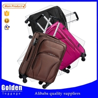 Baigou Factory Best Seller Carry-on 1680D Travel Luggages Universal Wheel Trolley Luggages