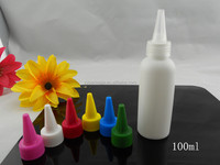 2015 New Arrival 30ml White Twist Cap Empty Plastic Tattoo Ink bottle e liquid bottle