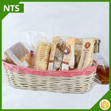 2015 NTS Wicker Fast Food Basket, High Quality Bamboo Fruit Basket