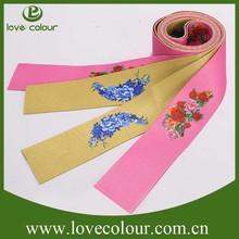 Custom printing polyester fabric webbings elastic tape/1 inch belt webbing
