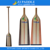 Durable Wooden Dragon Boat Paddles With Flberglass Reinforced