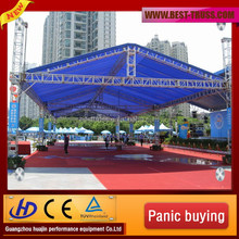 2014 the most beautiful aluminum roof truss for outdoor display