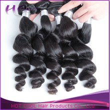 Elegant high quality hair style soft&smooth loose wave crazy hair for party new hair style