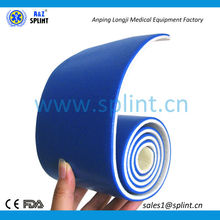 highly durable IXPE foam roll up splint
