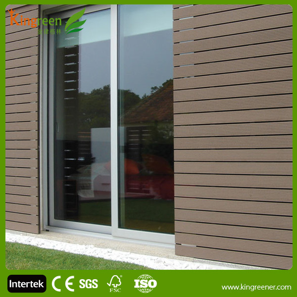 Wood Plastic Composite Wall Board Wall Paneling